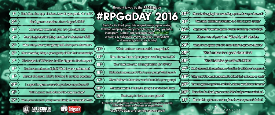 #RPGaDAY2016
